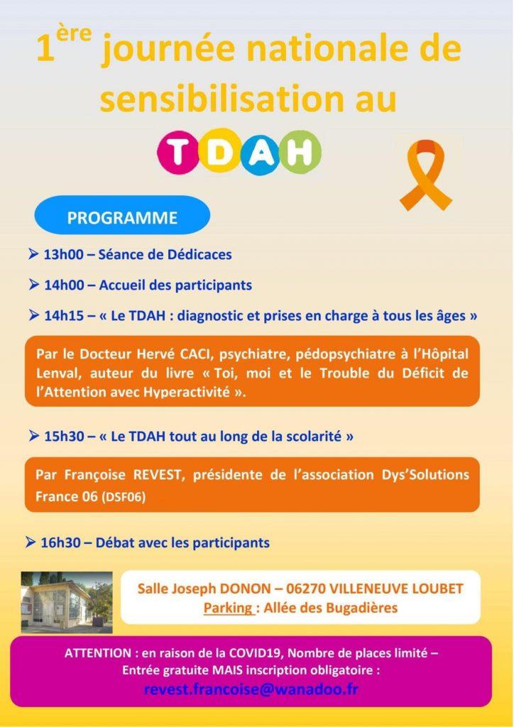 TDAH programme 12 juin